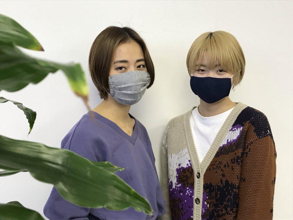 マスク着用画像①