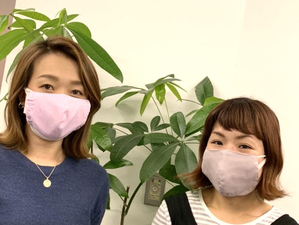 マスク着用画像②